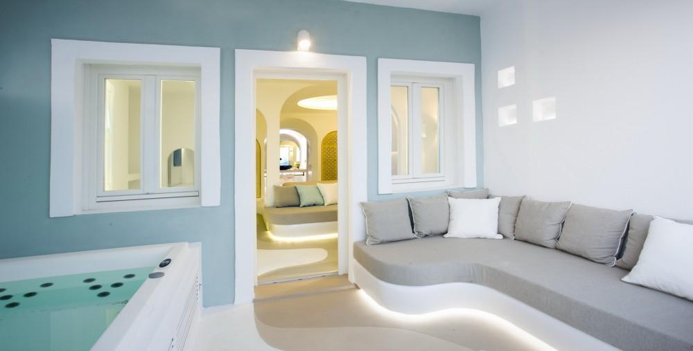 Suite Ground Floor With Outdoor Jacuzzi Andronikos