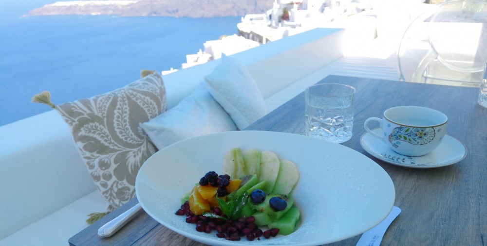 Greek Breakfast at Andronikos Santorini Hotel
